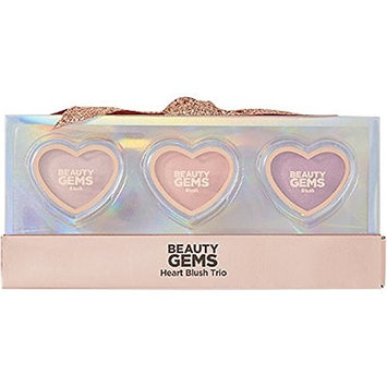 Beauty Gems Heart Blush Trio - 3 Must Have Blush Colors