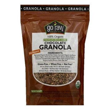 Go Raw 100% Organic Premium with Hemp Chocolate Granola, 1 lb (Pack of 6)