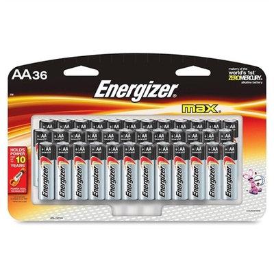 Energizer AA Size Alkaline General Purpose Battery E91SBP36H