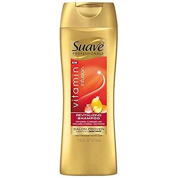 Suave Professionals Revitalizing Shampoo, Vitamin Infusion, 12.6 oz (Pack of 2)