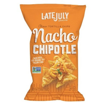 Snyder's of Hanover Late July Nacho Chipotle Clasico Tortilla Chips - 2.25oz