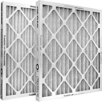 Flanders Corporation Flanders 80055.011818 40 Standard Quality Pleated Lpd Panel Filters 12/Pack 18