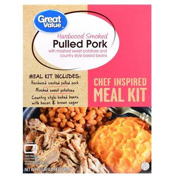 Great Value Frozen Meal Kit, Pulled Pork, 30 oz