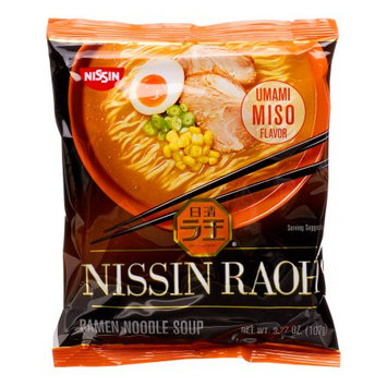 Nissin Foods, RAOH (Umami Miso), 3.77 fl oz (Case of 10)