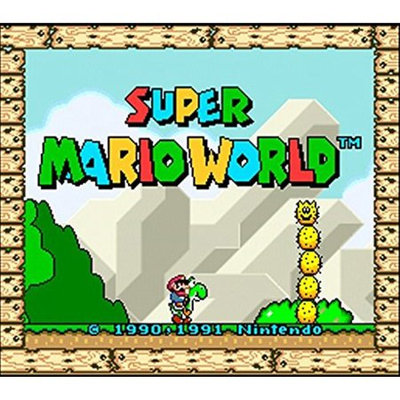 Nintendo Super Mario World 3DS (Email Delivery)