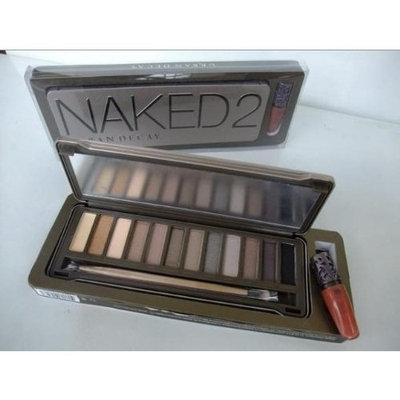 new Urban Decay Naked 2 Palette 12 Color Bare Makeup Eye Shadow Tray