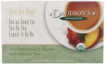 Davidson's Tea Davidson Organic Tea 172 Red Passion Tea Box of 100 Tea Bags