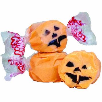 5 LB. Halloween Faces (Orange with Black Face) Salt Water Taffy - Gourmet Taffy by Taffy Town