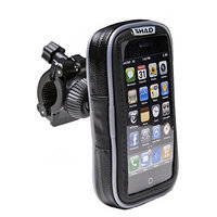 SHAD X0SG20H Soft Luggage Phone Case Handlebar, 3.8-inch, Black []