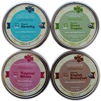 Heavenly Tea Leaves Tea Sampler Gift Set, Loose Leaf Gift Box, 4 Count