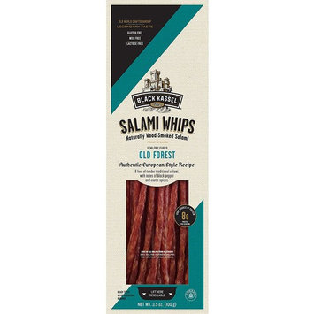 Piller's Black Kassel Old Forest Salami Whips, 3.5 Ounce