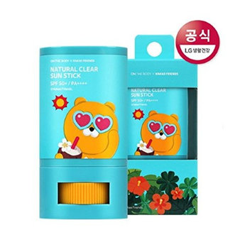 ON THE BODY KAKAO FRIENDS Natural Clear Sun Stick Made in Korea Cosmetic