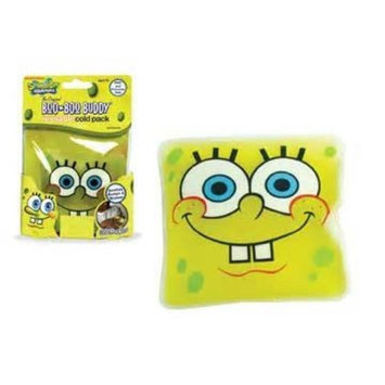 NICKELODEAN SPONGEBOB SQUAREPANTS BOO BOO BUDDY REUSEABLE HYPO ALLERGENIC COLD PACK