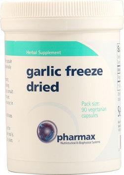 Pharmax Garlic Freeze Dried 90 Vegetarian Capsules