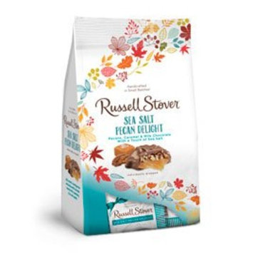 Russell Stover Fall Milk Chocolate Sea Salt Pecan Delight, 5.4 oz. bag