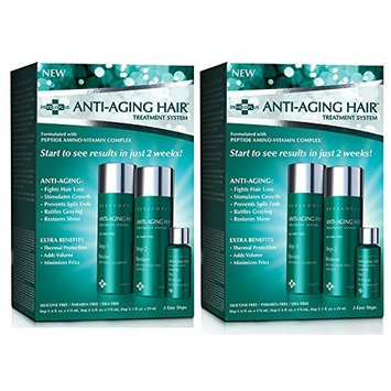 Anti Aging Hair Treatment System Pack of 2