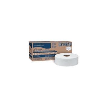Scott 03148 JRT Jumbo Roll Bathroom Tissue, 2-Ply, 9