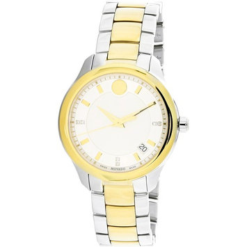 Movado Bellina Two-Tone Stainless Steel Ladies Watch 0606979