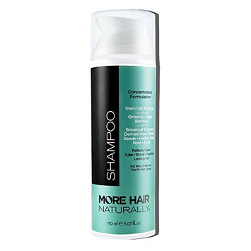 More Hair Naturally TRIPLE STEM CELL SHAMPOO: State of the art hair improvement (Newest version of Kevis 8 Shampoo)