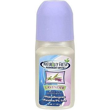 Naturally Fresh Roll On Deodorant Crystal Lavender -- 3 oz