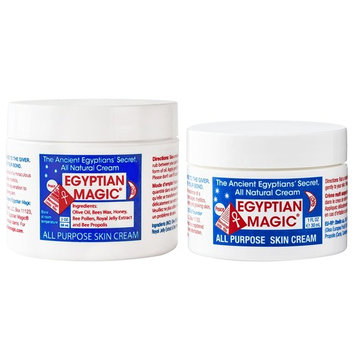Egyptian Magic All Purpose Skin Cream   Skin, Hair, Anti Aging, Stretch Marks   100% Natural Ingredients   3 Ounce
