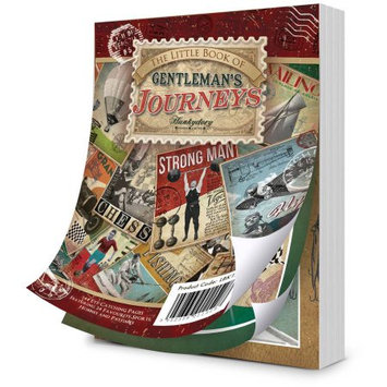 Hunkydory Crafts Hunkydory A4 Paper Pad, 144pk, Gentleman's Journey