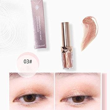 Jinjin Metallic Eyeshadow High Pearl Diamond Eyeshadow Pen Eyeliner
