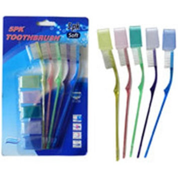 DDI 2134167 5 Piece Kids Toothbrush Set Assorted Color
