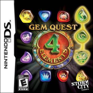 Storm City Entertainment Gem Quest 4 Elements (DS)