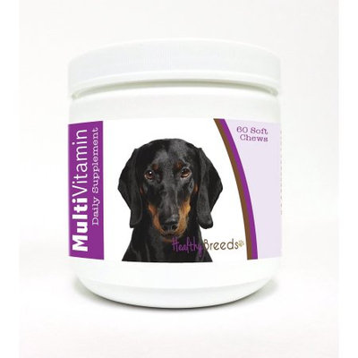 Healthy Breeds 1127-dach-003 60 Count Dachshund Multi-Vitamin Soft Chews, One Size