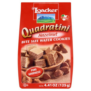 Loacker, Wafer Qudrtni Hazlnt 125G, 4.41 Oz (Pack Of 12)
