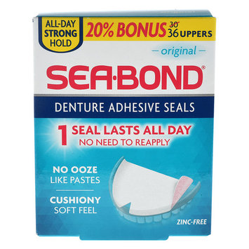 Sea Bond Denture Adhesive Seals
