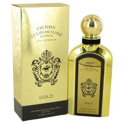 Armaf 539488 Derby Club House Gold by Armaf Eau De Parfum Spray for Women 3.4 oz