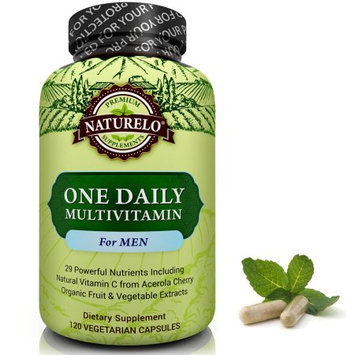 Naturelo One Daily Multivitamin for Men - 60 Capsules 2 Month Supply