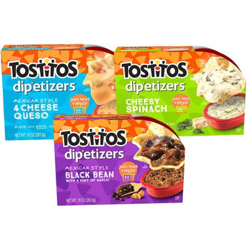 Tostitos® Dip-etizers Cheesy Dips Variety Pack