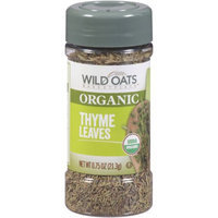 Wild Oats Marketplace Organic Thyme Leaves, 0.75 oz