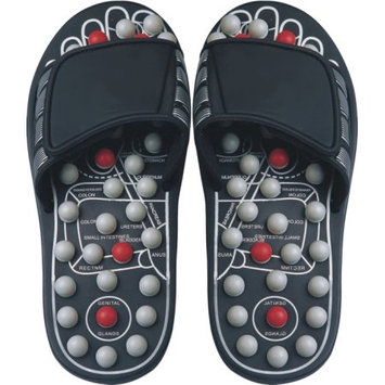 Ab Marketers Llc Reflexology Sandals Black Pearl