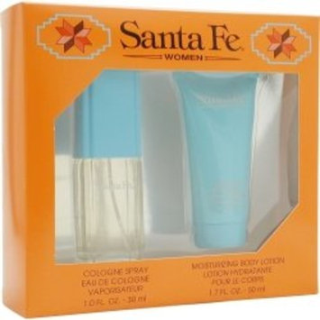Santa Fe By Santa Fe For Women Gift Set (Eau De Cologne Spray 1.0 Oz + Body Lotion 1.75 Oz)