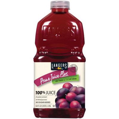 Langers Juice Langers 100% Juice Drink, Prune Plus, 64 Fl Oz