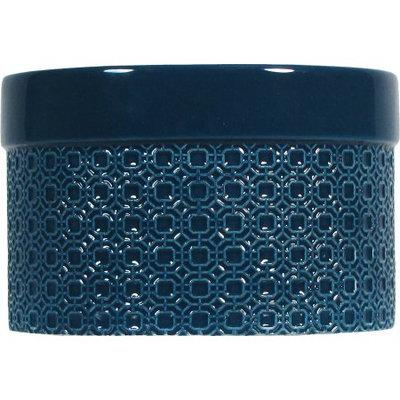 Candle Lite Better Homes & Gardens Blue Ceramic 9 oz jar, 3 wick, Sparkling Citrus Bellini fragrance