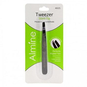 (PACK OF 3) ALMINE Slant Tip Tweezer #6025 : Beauty