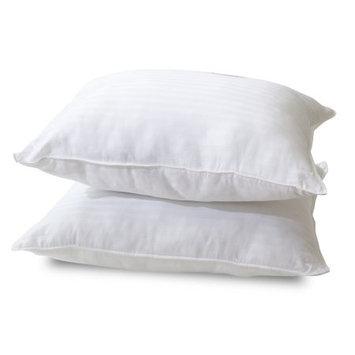 Classic Brands Modern Sleep Quiet Sleep Gel Fiber Pillow, Standard (2 Pack)