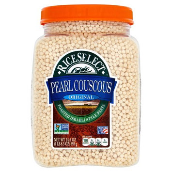 Riviana Foods, Inc. Riceselect, Couscous Pearl Plain, 24.5 Oz (Pack Of 4)