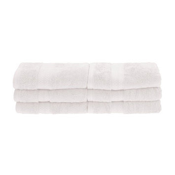 Home City Inc Superior Collection Soft, Absorbent Rayon from Bamboo and Combed Cotton Hand Towels (Set of 6)