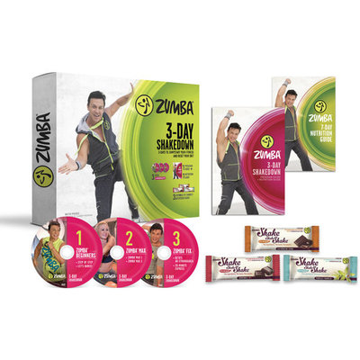 Zumba 3-Day Shakedown Nutrition and Weight Loss Fitness System