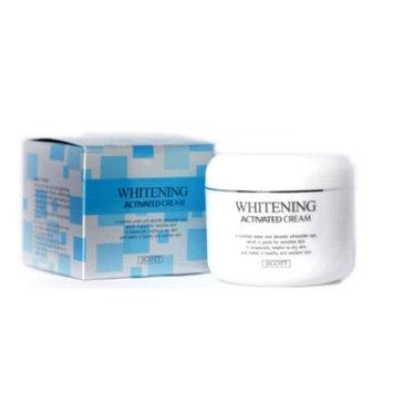 JIGOTT Facial Skin Care Whitening Activated Cream 3.38Oz Moisturizer Nutrition