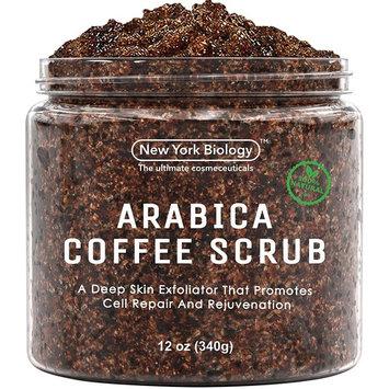 York Biology Natural Arabica Coffee Body Scrub, 12-Ounce