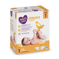 Parent's Choice Baby Diapers Size 1 Value Box (168 diapers)