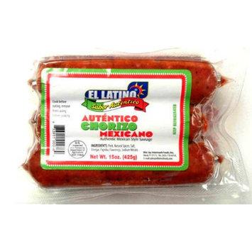 Intermark Foods Inc El Latino Mexican Saussage, 15oz