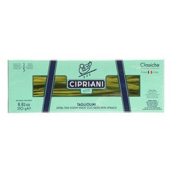 Cipriani Food Tagliolini Extra Thin Egg Pasta w/ Spinach 8.82 oz